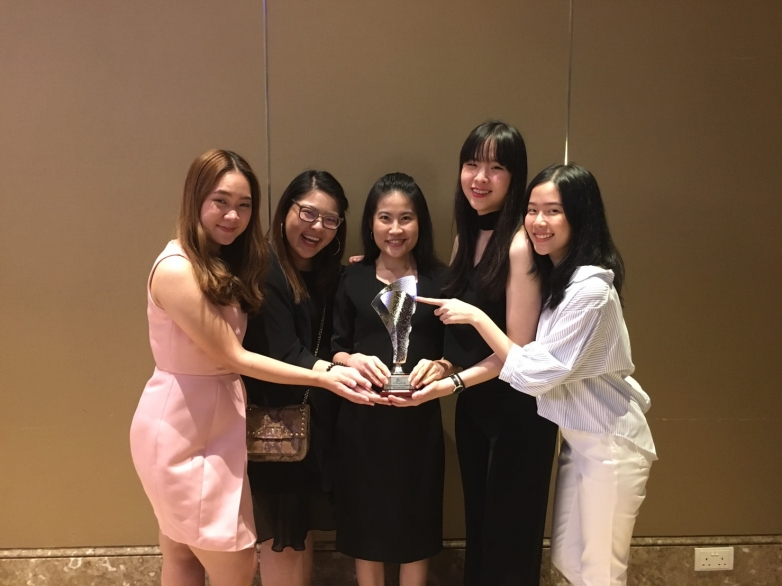 BBA Chula won 2nd runner-up at Asian Business Case Competition (ABCC) 2017, Nanyang Technological University, Singapore