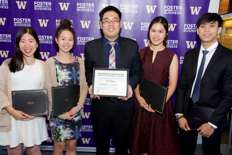 BBA Chula won the first runner-up at UW Global Business Case Competition 2019