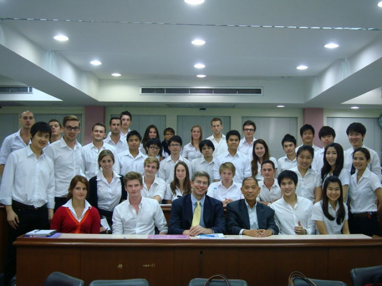 "Mr. Matthew Lobner was a guest lecturer in ""Cur Issues in Fin"" class"
