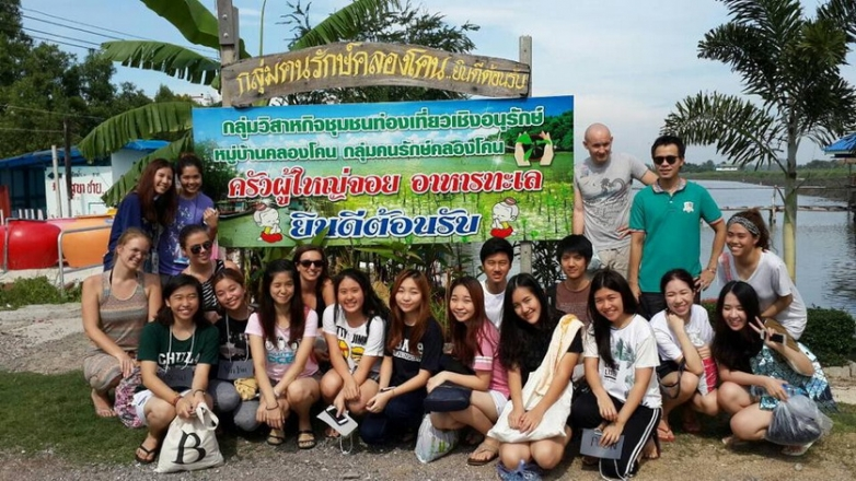 A volunteer activity - the Mangrove planting trip