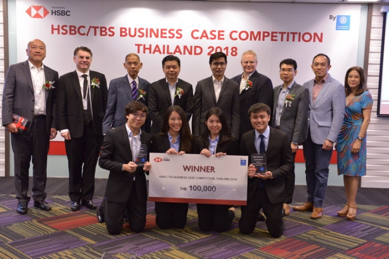BBA Chula won HSBC/TBS Business Case Competition 2018