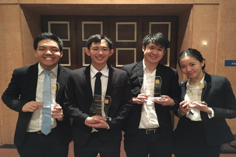 BBA Chula won first-runner up at HSBC Case Competition 2016