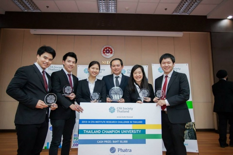 BBA Chula Wins CFA Institute Research Challenge in Thailand