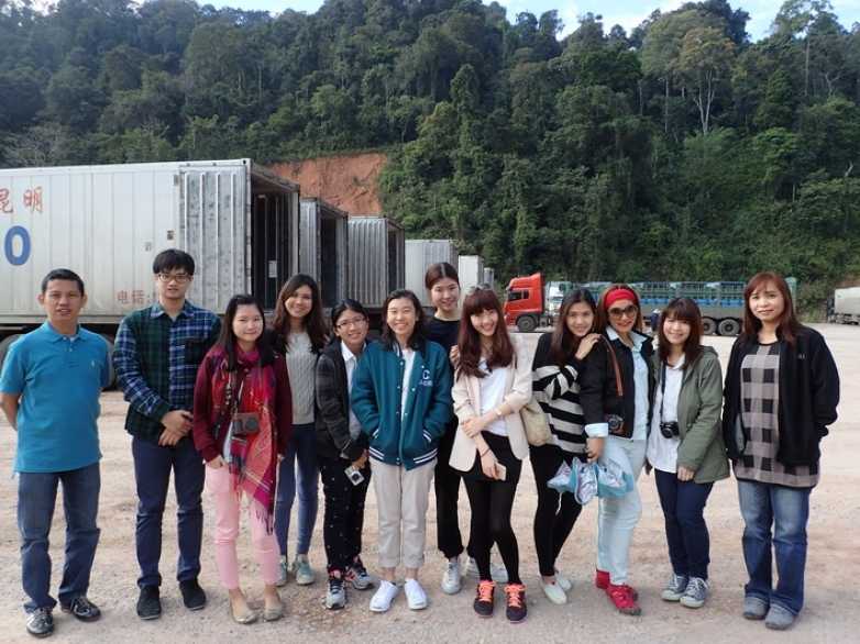 2015 AEC Travelling Classroom in Laos and China