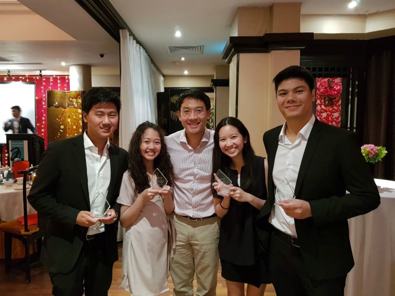 BBA Chula won first runner-up at NUS-SP Group Case Competition 2017