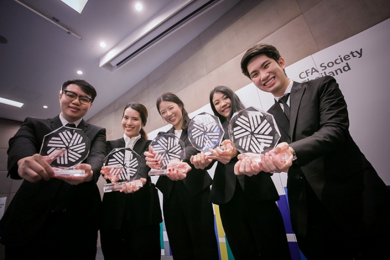 BBA Chula won first place at CFA Institute Research Challenge in Thailand 2018-2019