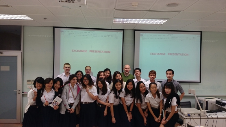 2014 Exchange Presentation for BBA students