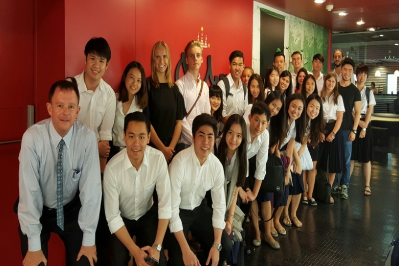 IMC class visit to Ogilvy and Mather Ad Agency