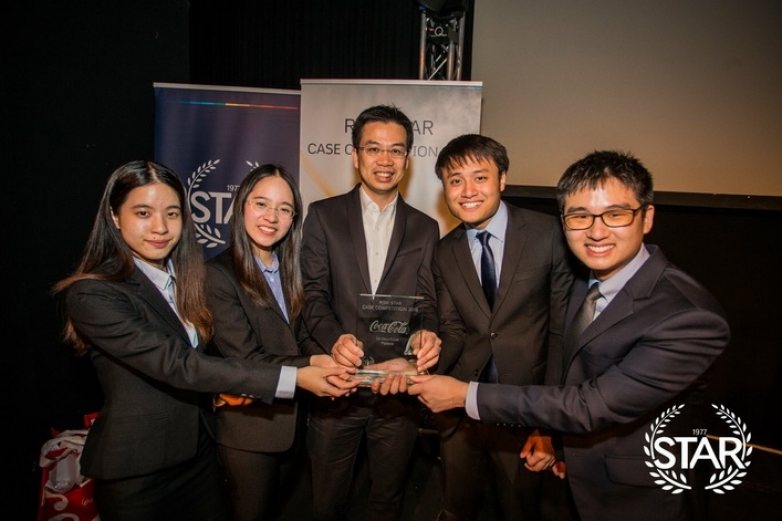 BBA Chula won first place at RSM Star Case Competition 2018