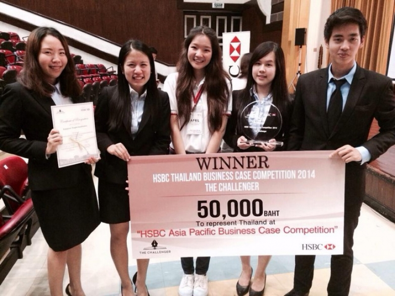 HSBC Thailand Business Case Competition 2014, The Challenger.