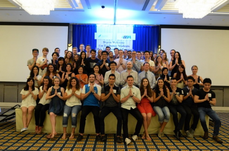 Welcome Party for Exchange Students in Spring 2016