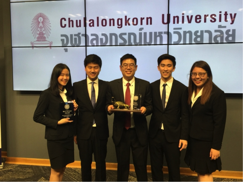 BBA Chula won first place at Heavener International Case Competition (HICC) 2018, University of Florida